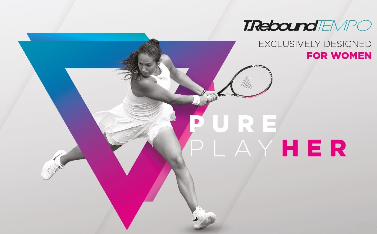 Tecnifibre Trebound Tempo2 teniszütővel versenyzik Daria Kasatkina