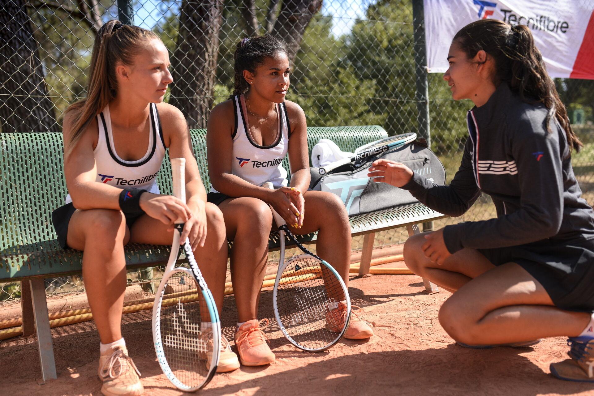 Csak nőknek! A Tecnifibre T-Rebound Tempo3 teniszütő családja női játékosok részére