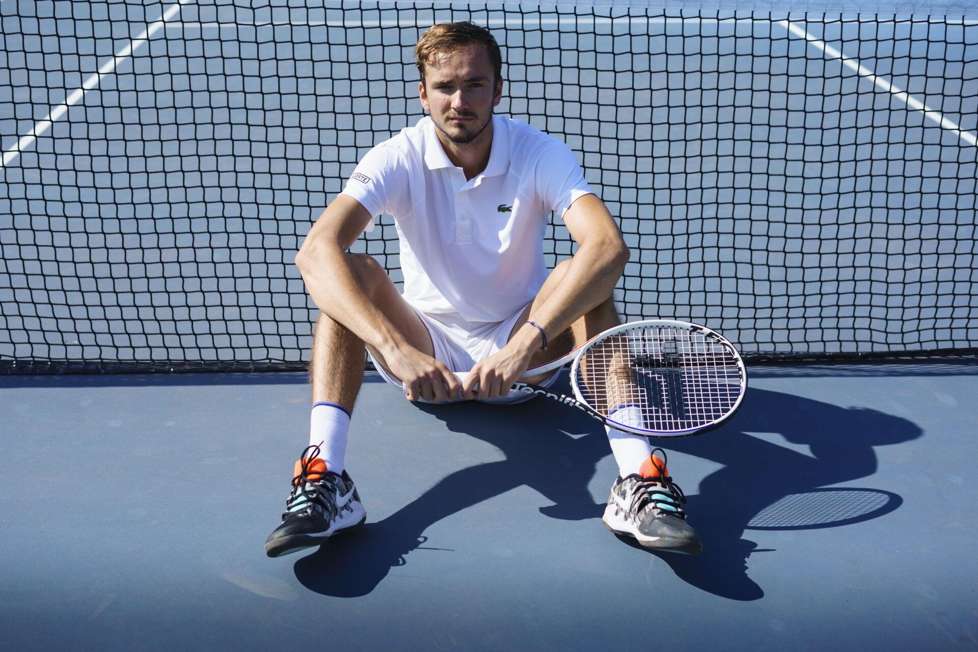 Daniil Medvedev a Tecnifibre játékosa