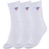 Kép 1/2 - Tecnifibre Tour hosszú szárú zokni 3 pár (fehér)