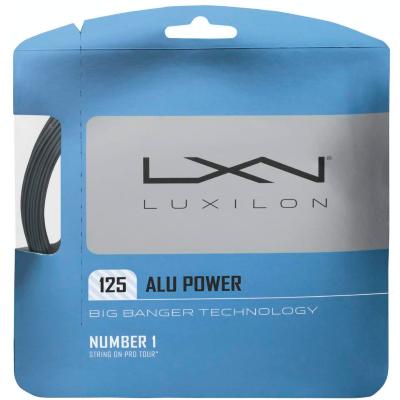 Luxilon Alu Power 1,25 12m (ezüst) teniszhúr