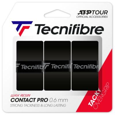 Tecnifibre Pro Contact (3 db) fekete fedőgrip