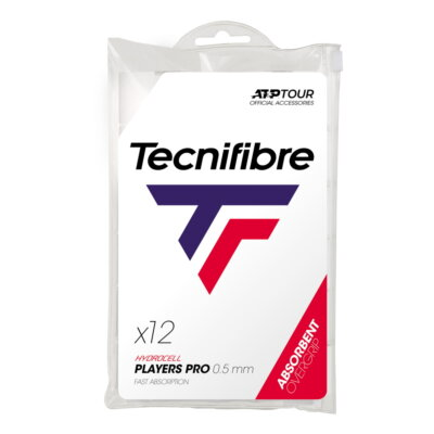 Tecnifibre Pro Players (12 db) fehér fedőgrip