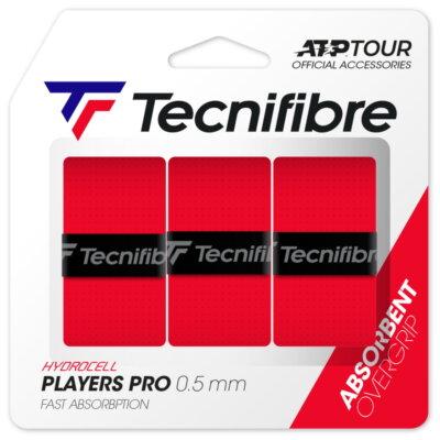 Tecnifibre Pro Players (3 db) piros fedőgrip