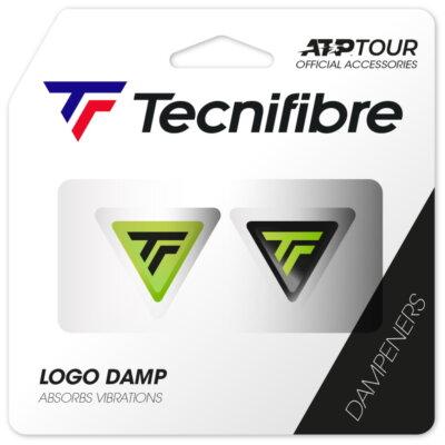 Tecnifibre Logo Damp lime rezgéscsillapító