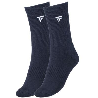 Tecnifibre férfi hosszú szárú zokni 2 pár (sötétkék)