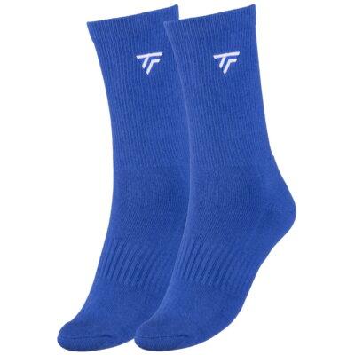 Tecnifibre férfi hosszú szárú világoskék zokni - 2 pár
