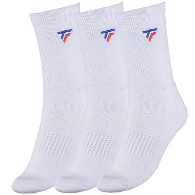 Tecnifibre Tour hosszú szárú zokni 3 pár (fehér)