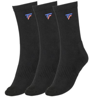 Tecnifibre Tour hosszú szárú zokni 3 pár (fekete)