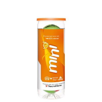 Tecnifibre Mini teniszlabda (3 db/tubus)