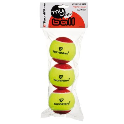 Tecnifibre My New Ball teniszlabda (3 db/zacskó)