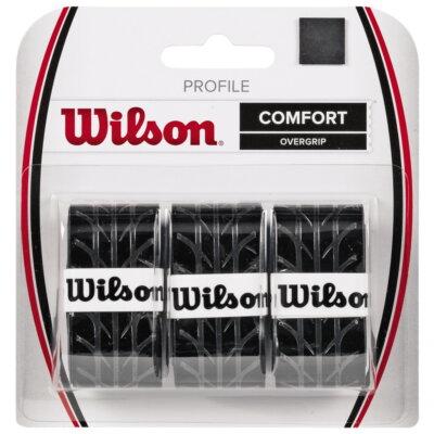 Wilson Profile fekete fedőgrip (3 db)