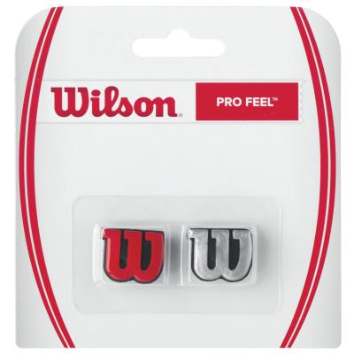 Wilson Pro Feel piros és ezüst színű rezgéscsillapítók
