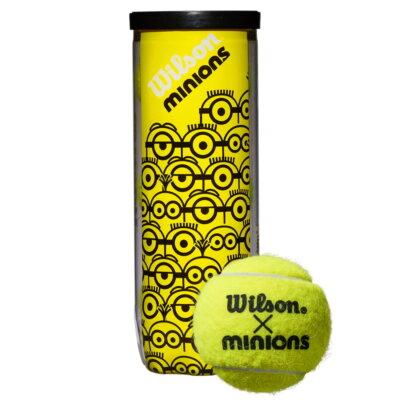 Wilson Minions Championship teniszlabda (3 db/tubus)