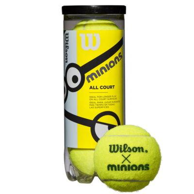Wilson Minions Stage 1 teniszlabda (3 db/tubus)