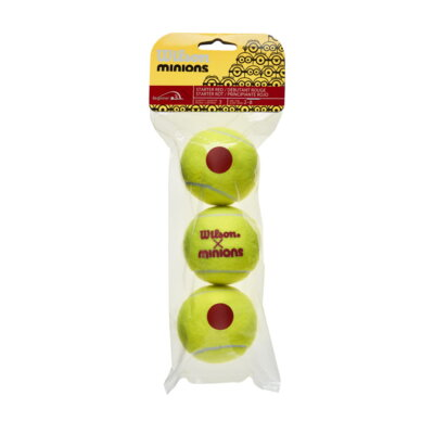 Wilson Minions Stage 3 (3 db) teniszlabda