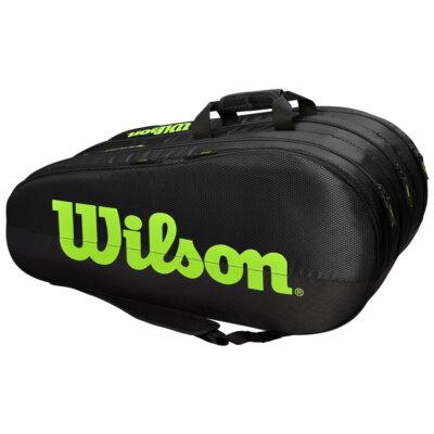 Wilson Team 3 Comp fekete-zöld ütőtáska