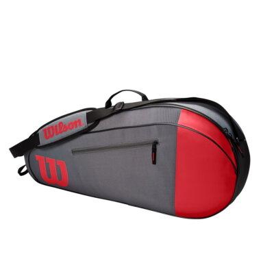 Wilson Team 3PK piros-szürke színű ütőtáska