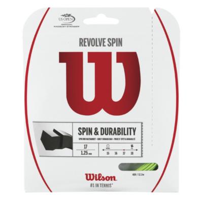 Wilson Revolve Spin zöld 12m teniszhúr