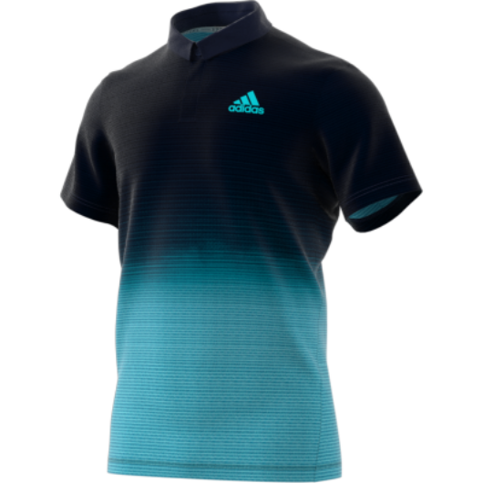 adidas Parley férfi pólóing kék
