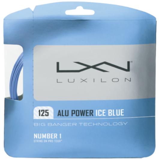 Luxilon Alu Power 12m teniszhúr (Jégkék)