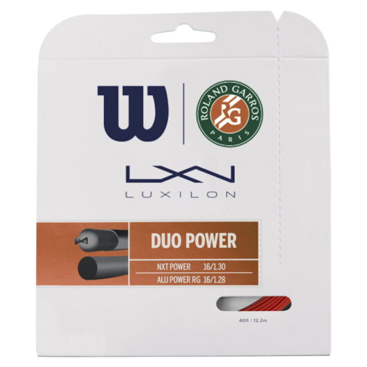 Wilson Duo Power Roland Garros szett teniszhúr