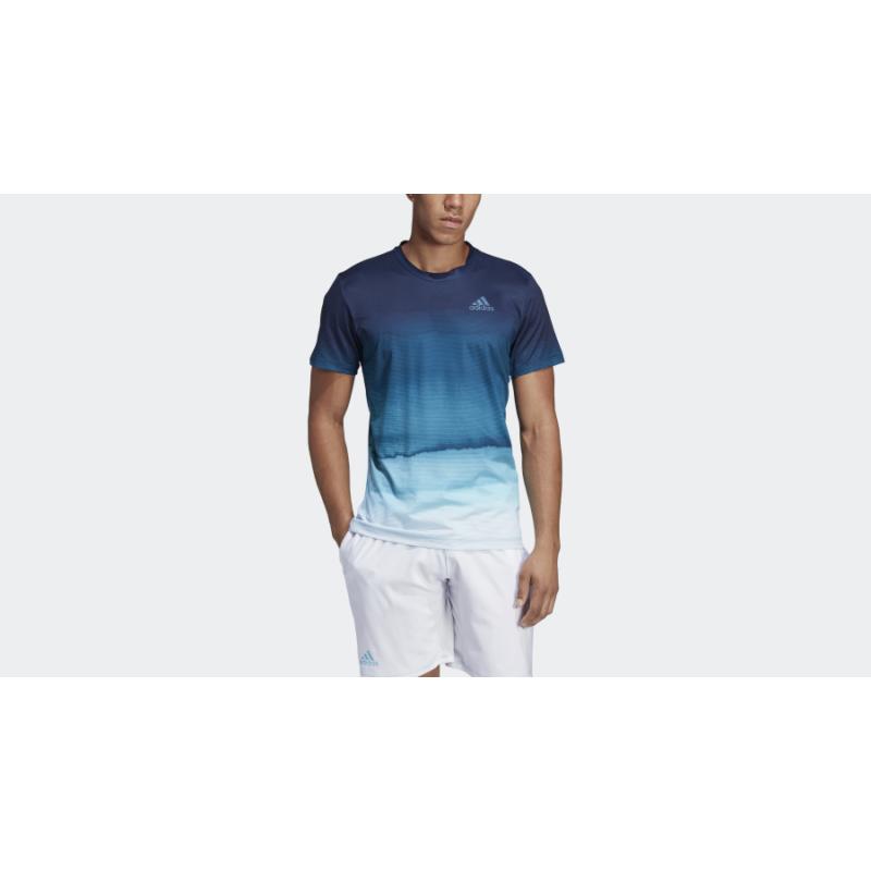 adidas Parley PR Tee fehér férfi pólóing