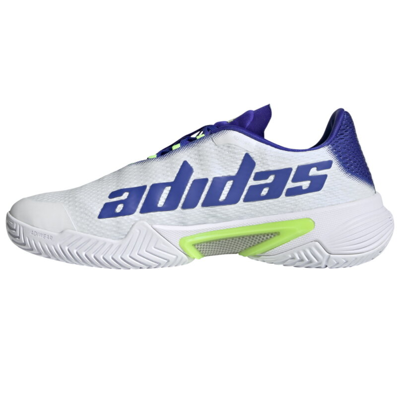 adidas Barricade M fehér-zöld teniszcipő