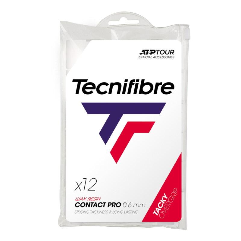 Tecnifibre Pro Contact (12 db) fehér fedőgrip