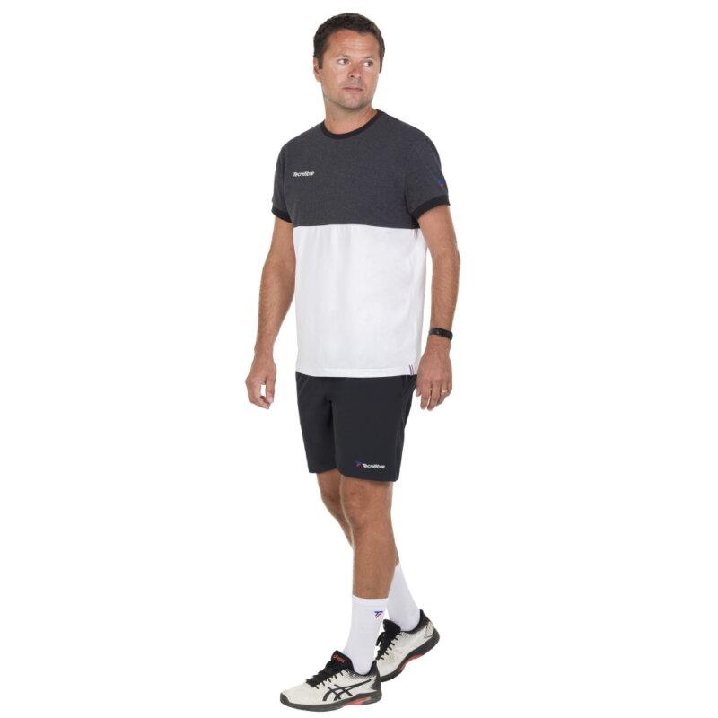 Tecnifibre Stretch Short fekete rövidnadrág