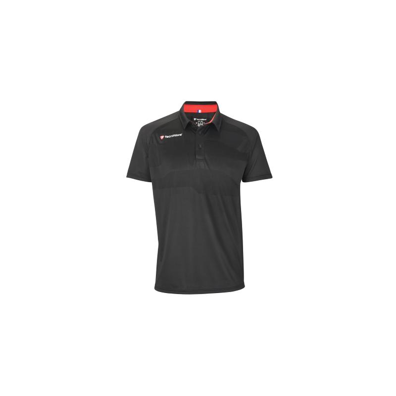 Tecnifibre F3 Ventstripe fekete férfi pólóing