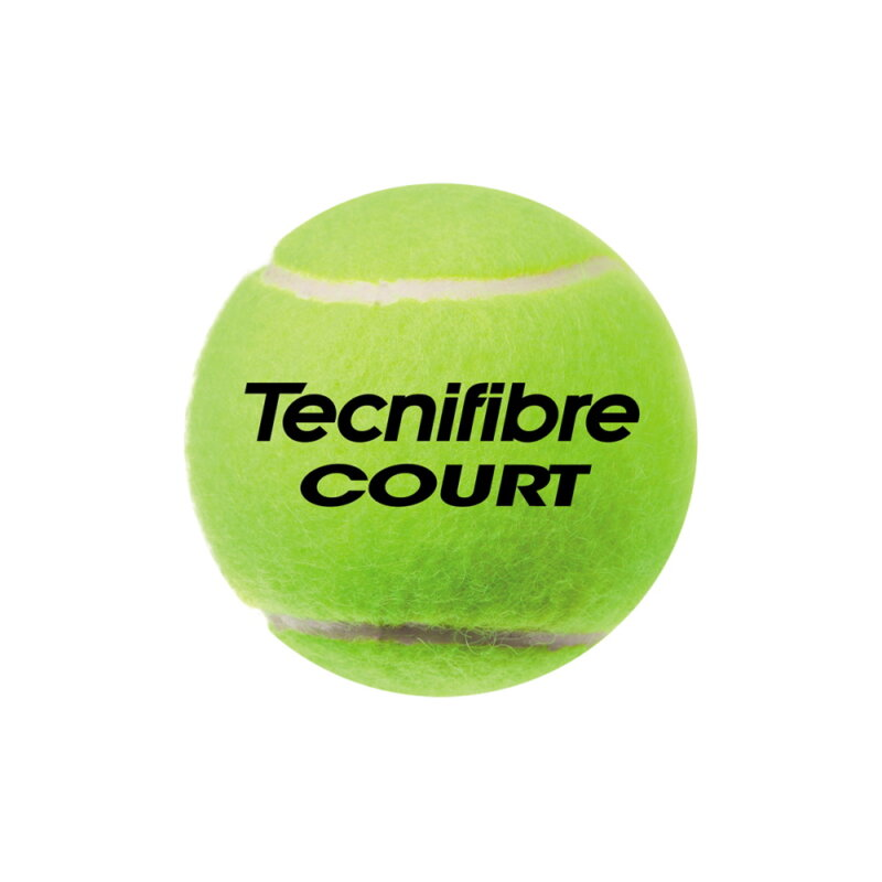 Tecnifibre Court BiPack (8 db / 2 tubus) teniszlabda