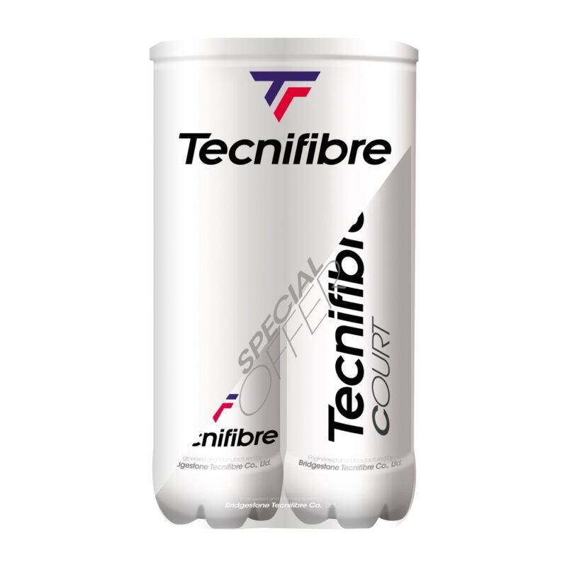 Tecnifibre Court BiPack teniszlabda (dupla kiszerelés)