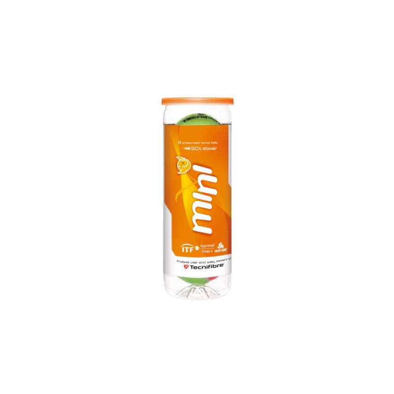 Tecnifibre Mini (3 db/tubus) teniszlabda