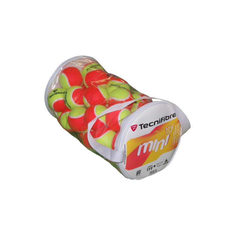 Tecnifibre Mini (40 db/zsák) teniszlabda