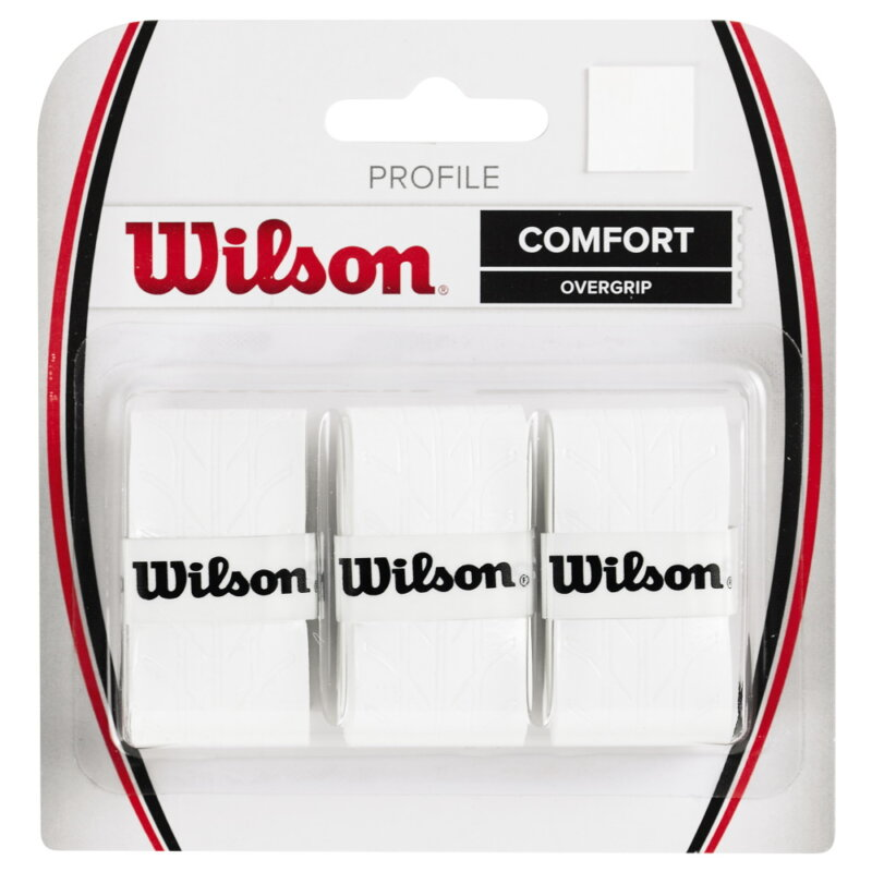 Wilson Profile fehér fedőgrip (3 db)