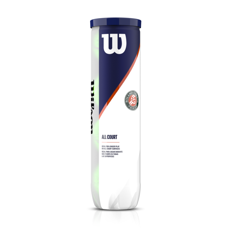 Wilson Roland Garros Allcourt teniszlabda (4 db/tubus)